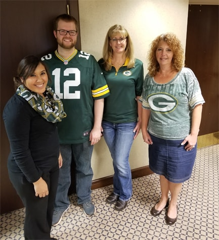 United Way 2017 - Packers Staff 2