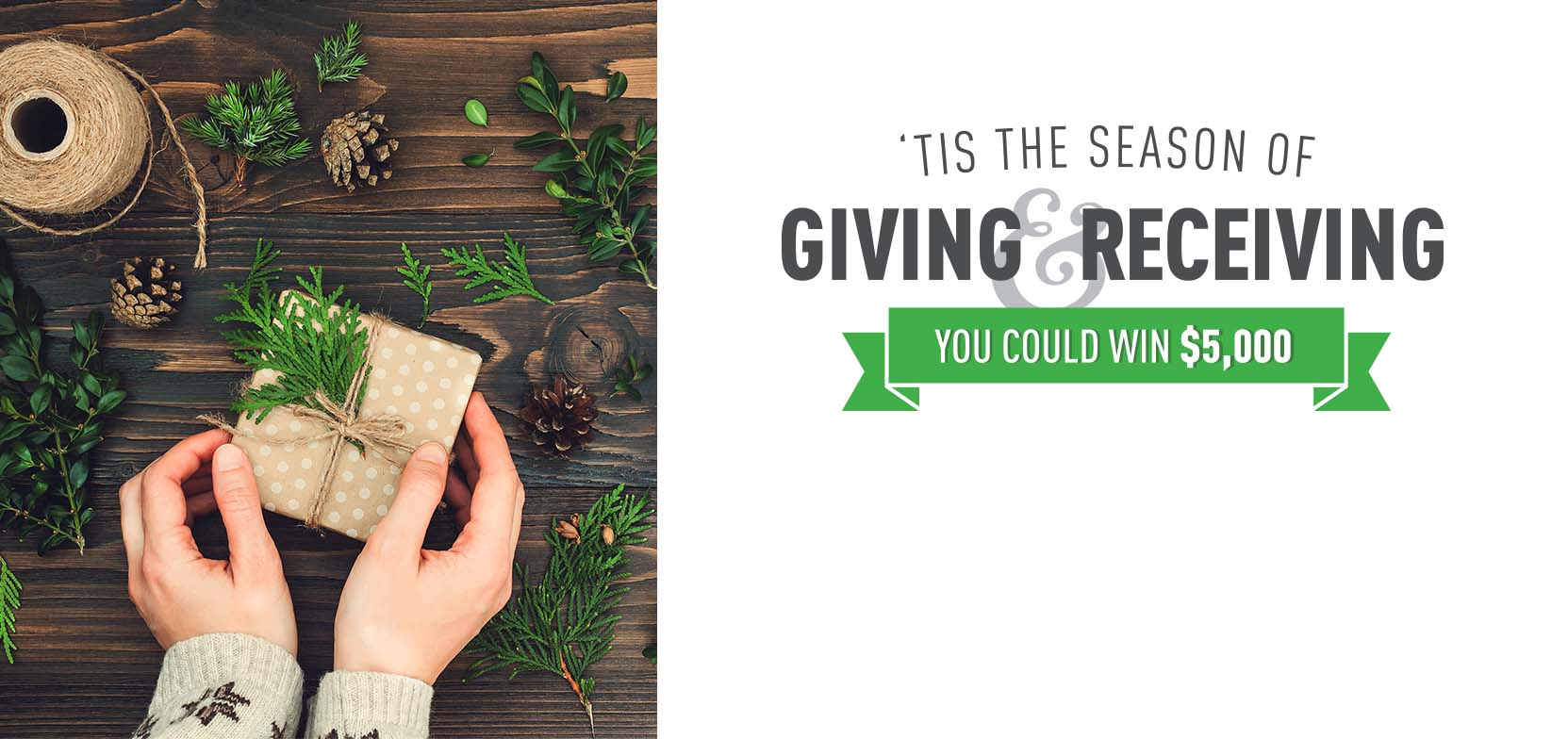 Season of Giving and Receiving 2018