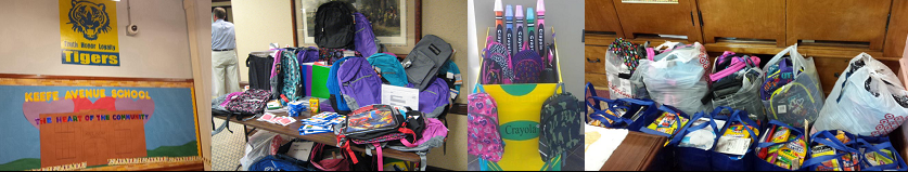 School Supply Drive Aug 2014